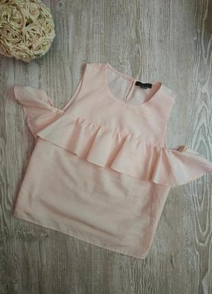 Блузка с открытыми плечами и воланом atmosphere размер 20