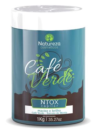 Ботокс для волос NATUREZA CAFE VERDE