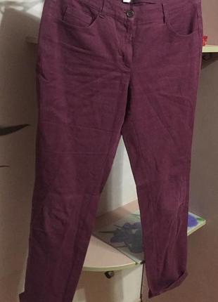 Летние брюки из натуральной ткани