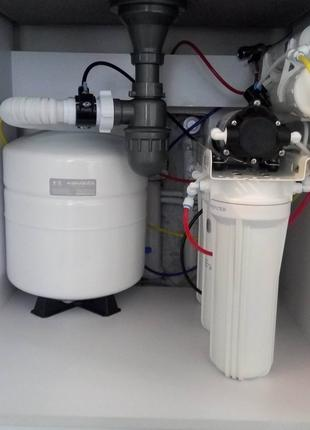 Обслуживание фильтров для воды и ремонт систем очистки воды