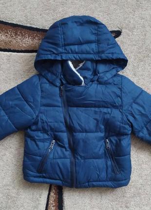 Теплая куртка на мальчика евро зима