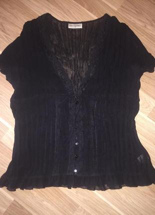 Лёгкая прозрачная блузка