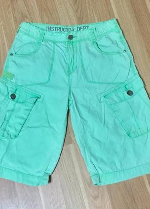 Легкие летние шорты для мальчика