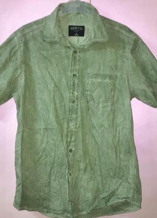 Рубашка мужская лёгкая летняя из натуральной ткани 100 % хлопо...