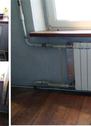Замена радиаторов без слива воды, без ЖЭКа, c оборудованием за...