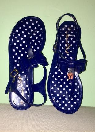 ❤️легкие летние шлёпанцы босоножки силиконовые без каблука