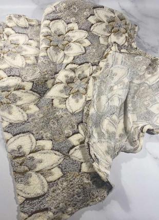 Плед микрофибра- рифлёный двушка.