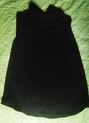 Легкая блуза удлинённая