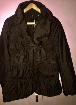 Куртка темно-коричневая цвет шоколада италия