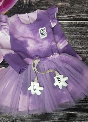 Платье нарядное микки маус
