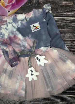 Платье микки маус