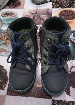Зимние ботинки, сапоги для мальчика - 17,2 см.