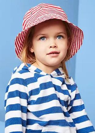 Хлопковая панама детская панамка от солнца