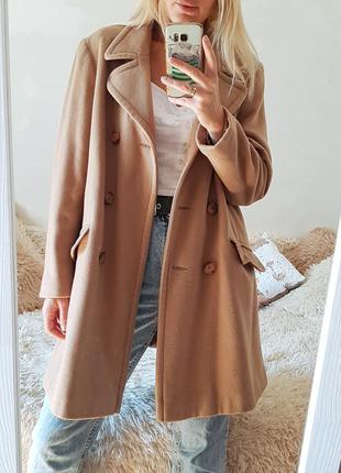 Хіт продаж 🔥трендове шерстяне двухбортне пальто cubus