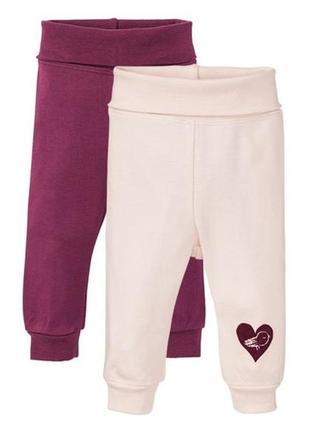 2 шт комплект, штаны для малышей 86-92, ползунки lupilu, германия