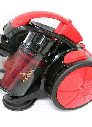 Пылесос с турбо-щеткой CROWNBERG CB0110 на 2400W Контейнерный