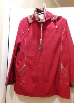 Куртка ветровка ,р.52-54