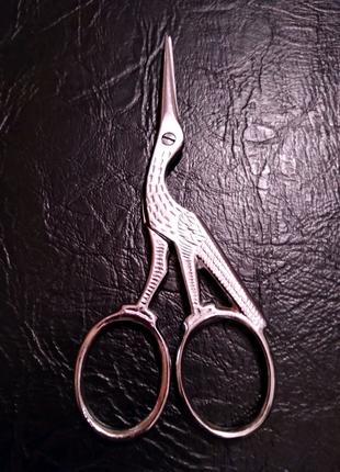 Ножницы цапелька (9см)для рукоделия Loc AU