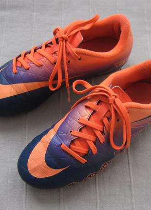 Nike hypervenom phelon ii fg (36) бутсы копочки детские