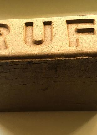 Топливные, дубовые брикеты РУФ