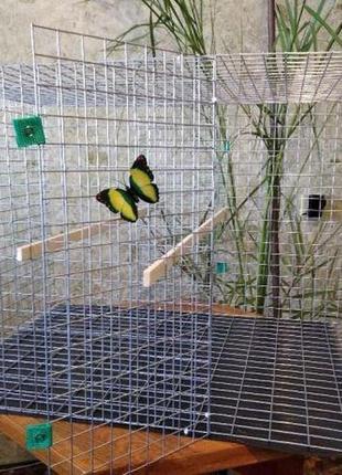 Вольер клетка посекционно для большого попугая голубей других пти