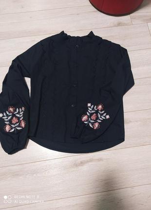 Блуза рубашка вишивка arjen
