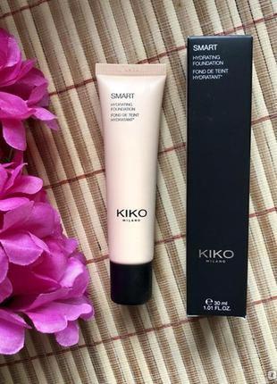 Newтональный крем-флюид kiko milano smart hydrating foundation
