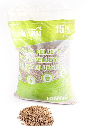 Топливные пеллеты Classic SOFT (упаковка по 15 кг) 1 тонна
