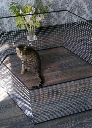 Вольер манеж клетка для маленьких собак щенков кроликов котят и д