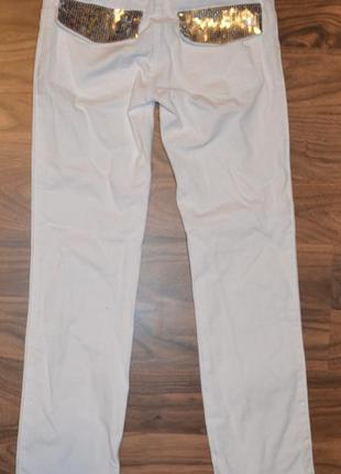 Брюки, штаны, джинсы нарядные benetton рост 130 см