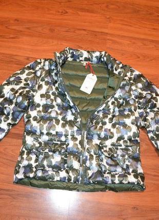 Куртка пуховая, пуховик размер 40 евро