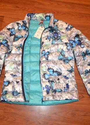 Куртка пуховая, пуховик размер 38 евро