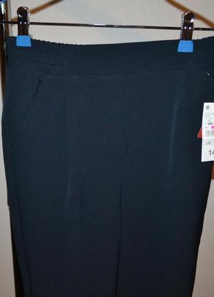 Брюки, школьные штаны на 12 лет. цвет темно-синий.