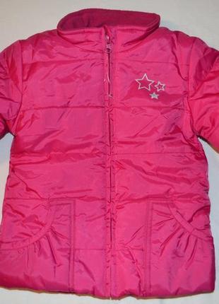 Яркая зимняя куртка рост 74-80 см и 86-92 см. германия.