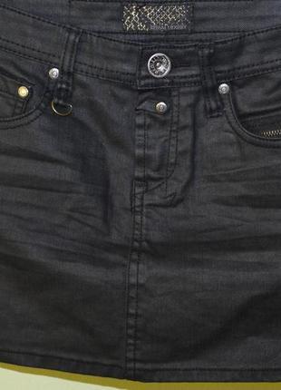 Джинсовая юбка размер s