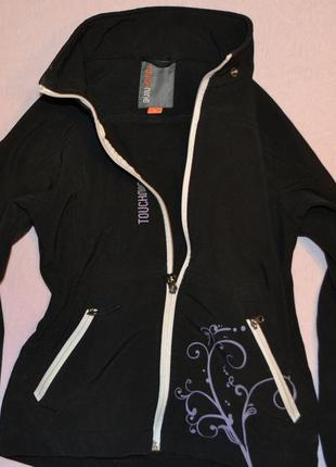 Куртка, ветровка, термо кофта soft shell рост 130 см