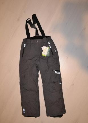 Лыжные штаны c&a подросткам цвет серый
