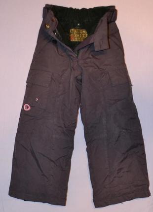 Зимние, теплые штаны на 4 года