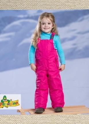 Полукомбинезон, зимние штаны, комбинезон рост 74 см