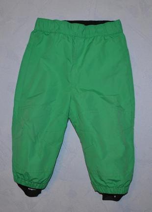Деми штаны не промокаемые рост 80 см