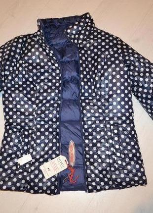 Двухсторонний пуховик, куртка, пуховая куртка р. s