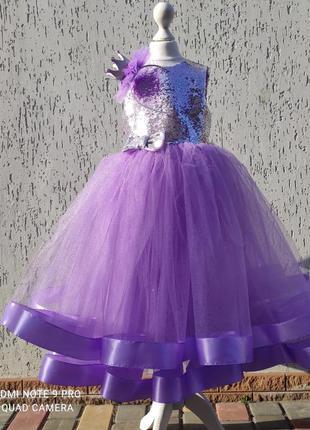 Выпускное платье с сада платье детское на день рождения с пайе...