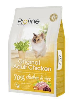 Сухой корм Profine Original для котов и кошек с курицей 10кг