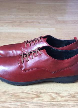 Новые кожаные туфли josef seibel 38 размера