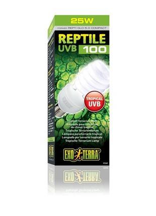 Hagen Exo Terra Reptile UVB 100 Tropical Terrarium Bulb лампа-...
