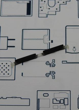 Кнопка громкости ZTE V8 Mini черная Сервисный оригинал с разборки