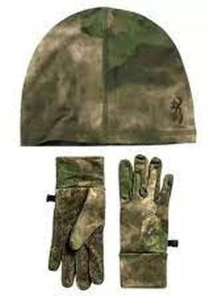 Шапка перчатки мужские browning