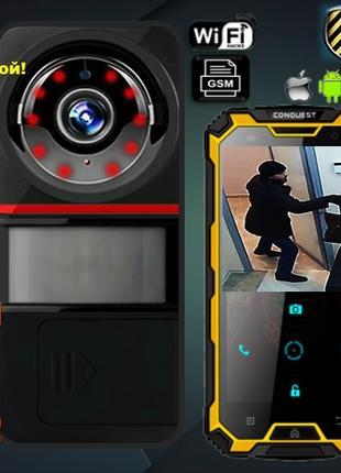 GSM сигнализация с Wi-Fi камерой