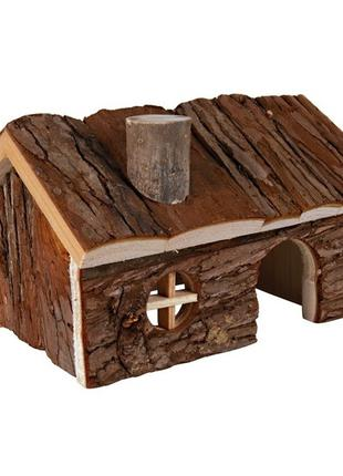Trixie Hendrik House домик из натурального дерева для мелких г...