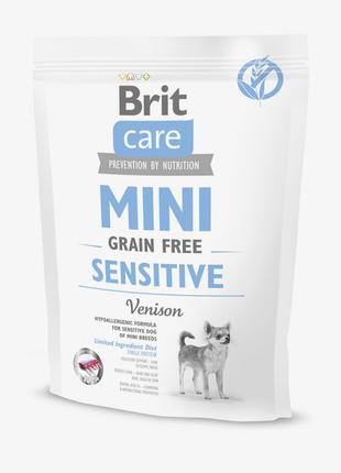 Brit Care Sensitive Grain Free сухой гипоаллергенный корм для ...
